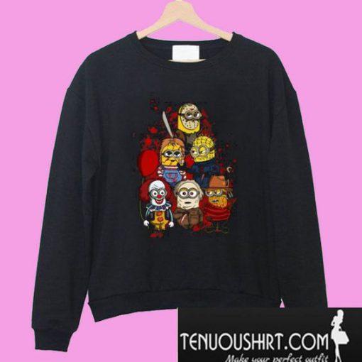 Halloween Minion Horror Sweatshirt