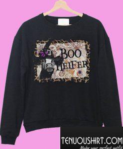 Halloween boo heifer Sweatshirt