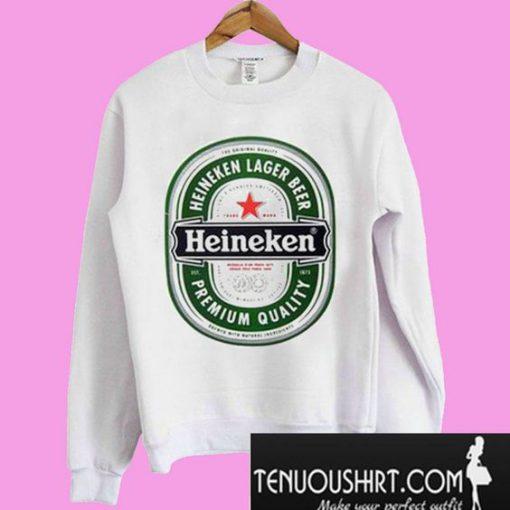 Heineken Lager Beer Heineken Premium Quality Sweatshirt