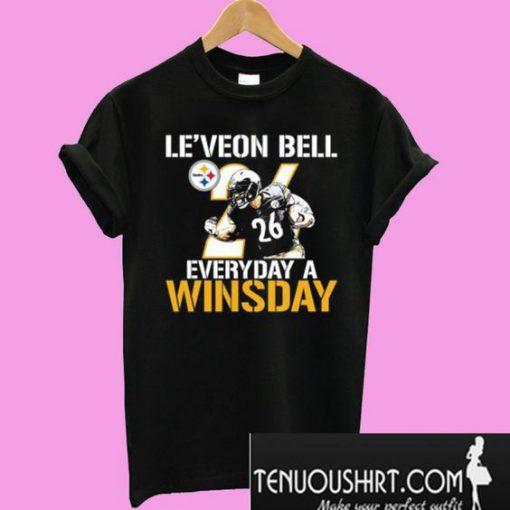 Le'Veon Bell Everyday A Winsday T-Shirt