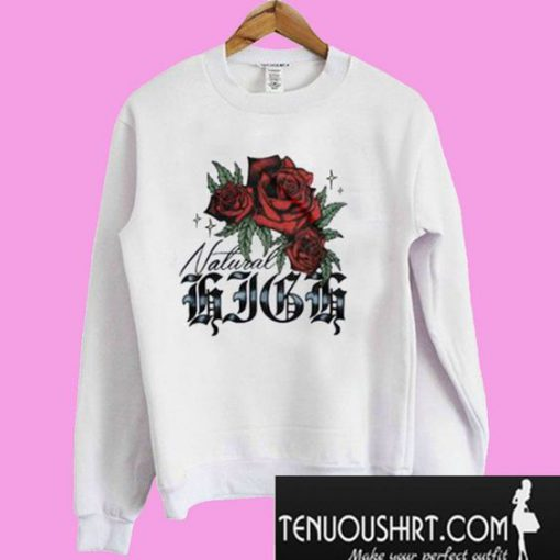 Natural High Rosebud Sweatshirt