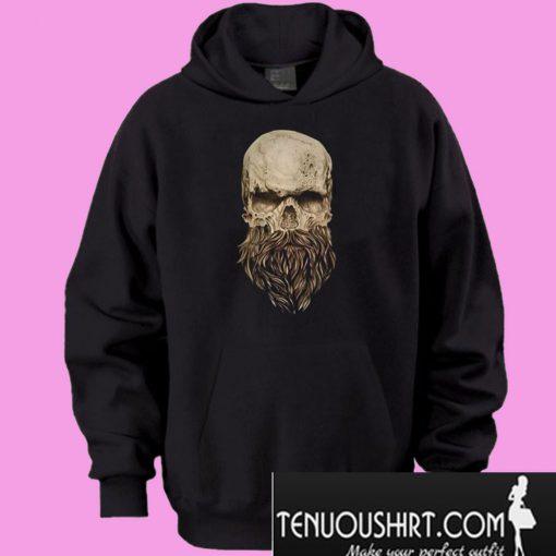 A-skull-and-a-beard-Hoodie