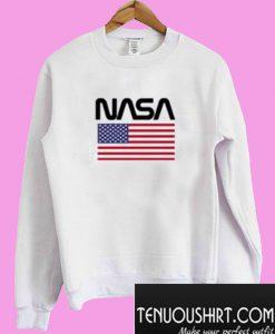 American Flag NASA Sweatshirt