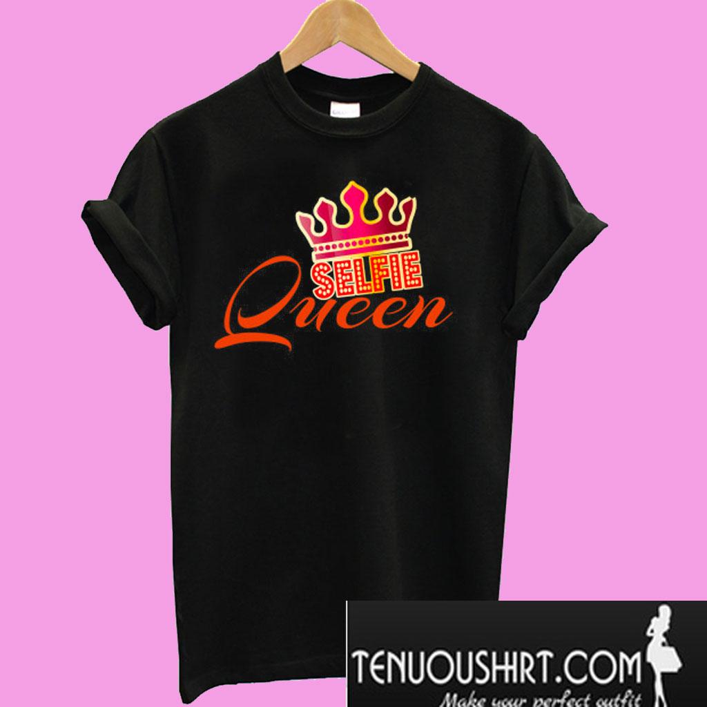 519b8e5c8 Selfie Queen Crown T-Shirt
