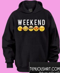 Weekend Emoji Hoodie