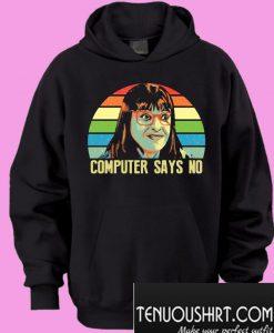 Carol Beer LGBT computer says no Hoodie