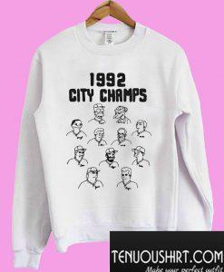 The Simpsons 1992 city champs Homer Sweatshirt