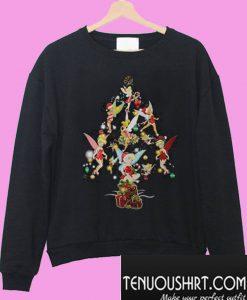 Tinkerbell Christmas tree Sweatshirt