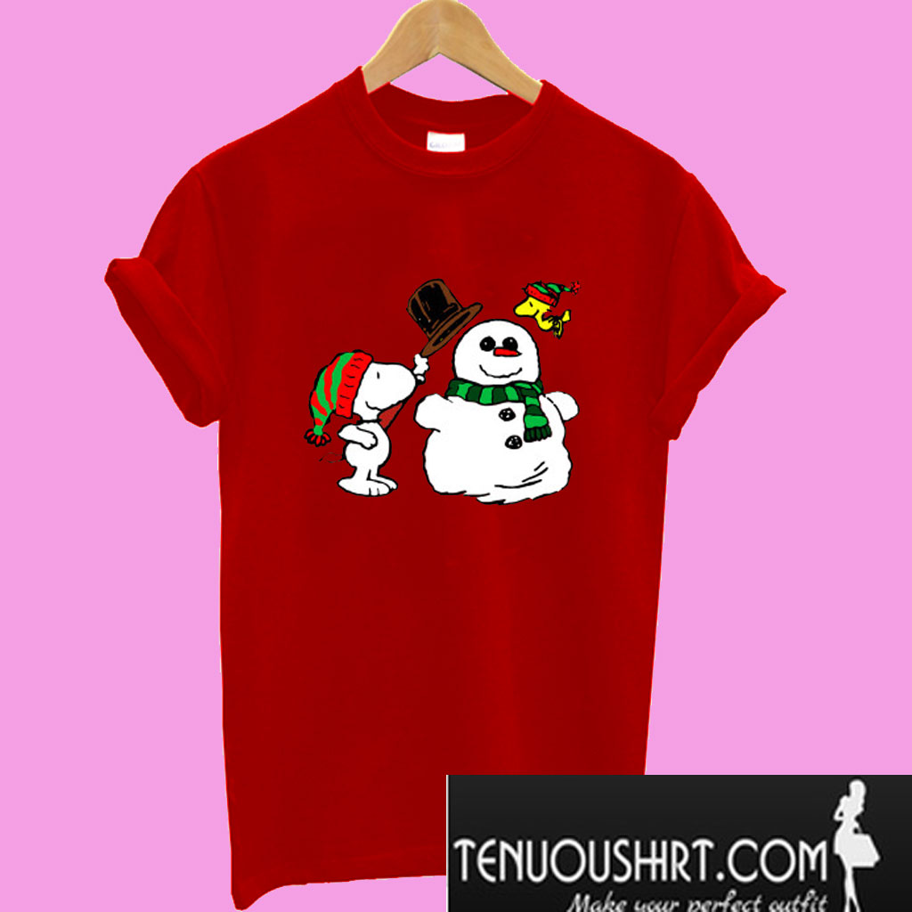 Snoopy And Woodstock Christmas.Snoopy Woodstock Christmas T Shirt