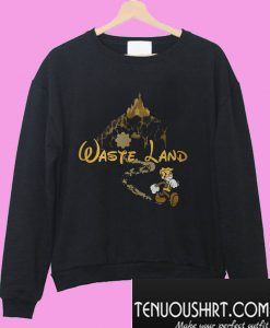 West Virginia wasteland Disney Sweatshirt