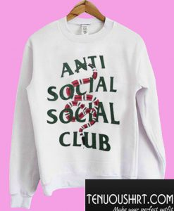 Anti Social Social Club Snakes Sweatshirt
