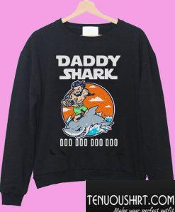 Aquaman Daddy shark doo doo doo doo Sweatshirt