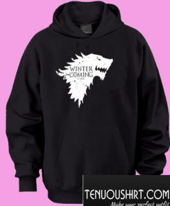 Winter Is Coming Stark GoT Hoodie