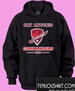 San Antonio Commanders 2019 Hoodie
