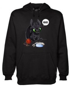 Toothless Miaou Hoodie