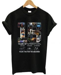 15 Year Of Supernatural T-Shirt