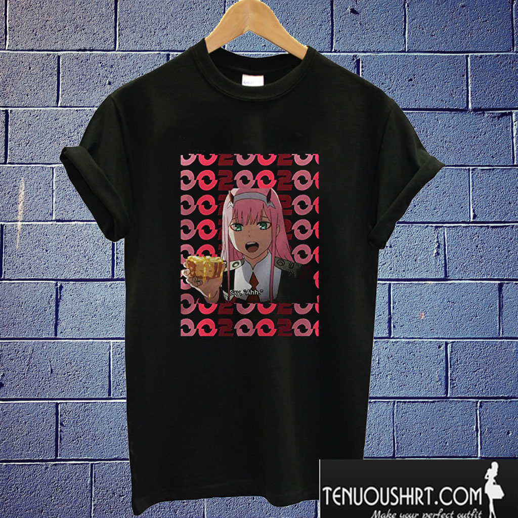 002 Darling in the FranXX T shirt