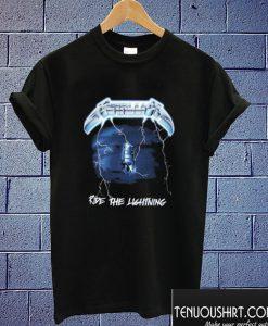 Metallica Ride The Lightning T shirt