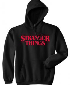Stranger Things Black Hoodie