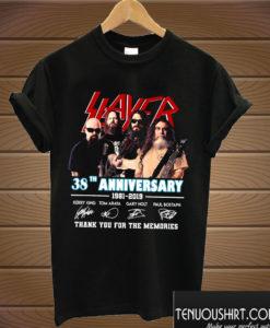 38 Years Of Slayer T shirt