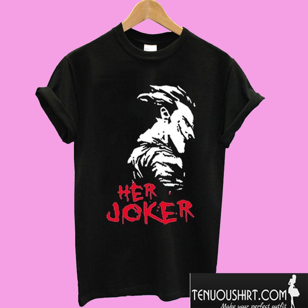 Her Joker T shirt