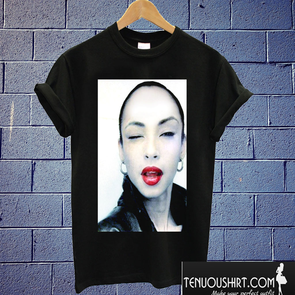 Sade Adu T shirt