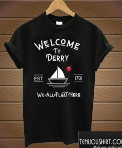 Welcome to Derry Pennywise T shirt