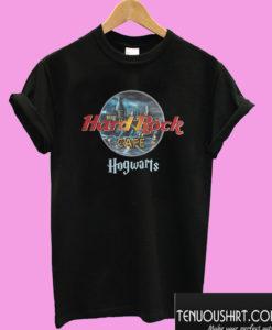 Harry Potter Hard Rock cafe Hogwarts T shirt