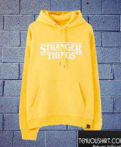 Stranger Things Yellow Hoodie