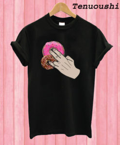 2 In The Pink And One In The Stink Doughnut Parody T shirt