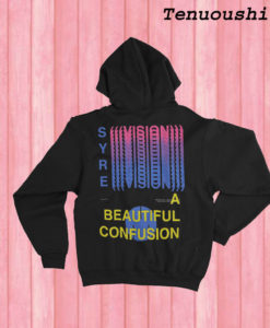 Syre A Beautiful Confusion Hoodie | Unisex Hoodie Back