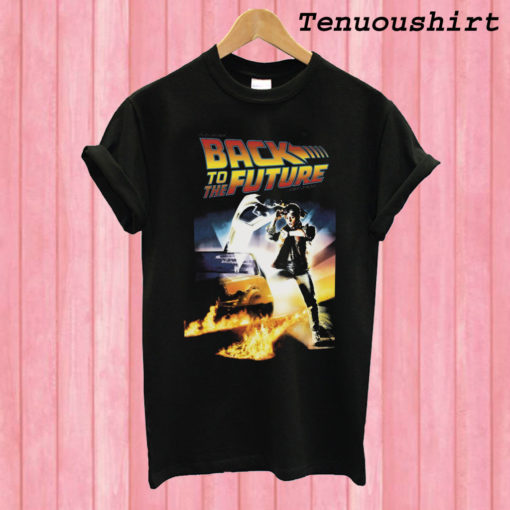 Back to The Future black T shirt