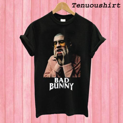 Bad Bunny Black T shirt